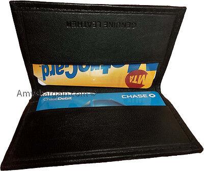Amichevole Donna E Man's Skinny Pelle Business E Credito Hollder 7 Card Custodia Bnwt
