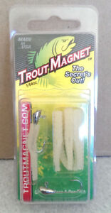 7 Tails 2 Jig Heads Leland/'s Lures TROUT MAGNET Fishing JIGS 1//64oz.