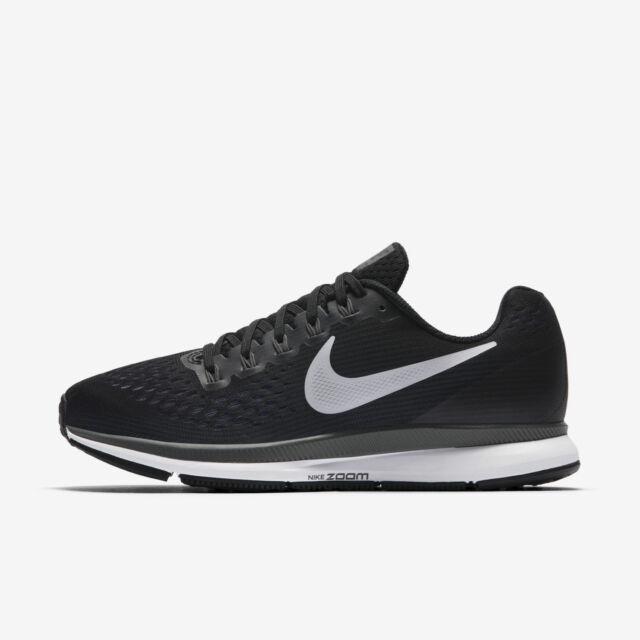 NIB Nike Air Zoom Pegasus 34 Women's Black White Athletic Shoes PICK SIZE