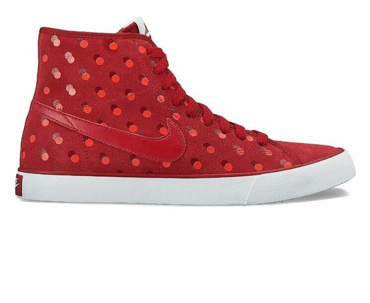 Nike Primo Court Women's Polka-Dot Mid-Top Sneakers NWT Size 10 or 12