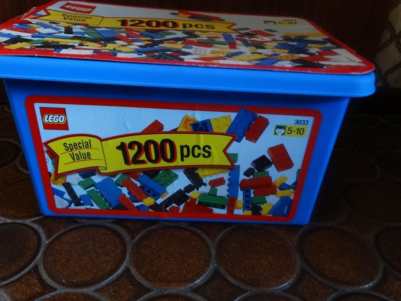 Lego Set  3033 Creator Box Special Vatue. Mega1200 Teile. Original verpackt.