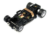 Autoworld Complete 4gear Chassis Ho Scale Slot Car 4 Gear Aw