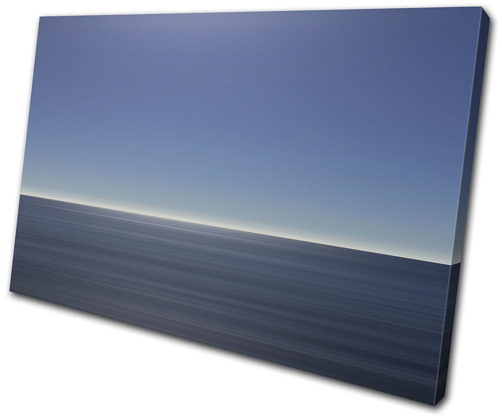 Sea ocean calm landscapes single toile wall art photo print