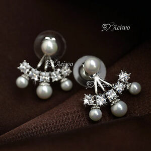 18K-WHITE-GOLD-GF-MADE-WITH-SWAROVSKI-CRYSTAL-PEARL-STUD-EARRINGS