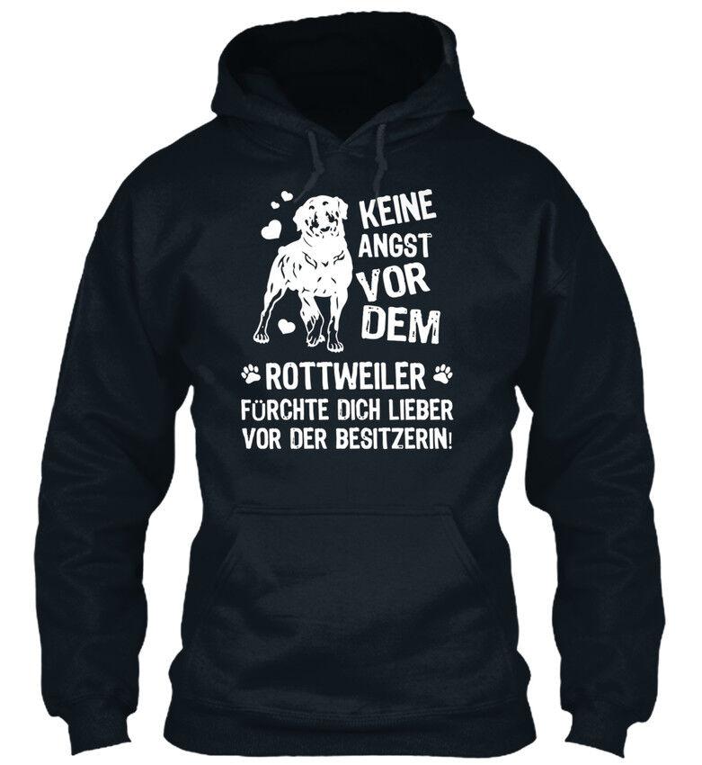 Keine Angst Vor Dem Rottweiler Bequemer Kapuzenpullover  | Bekannt für seine hervorragende Qualität  | Qualitätskönigin  | Online-verkauf