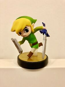 Amiibo-Super-Smash-Toon-Link-Use-In-Switch-Legend-of-Zelda-BOTW-RARE