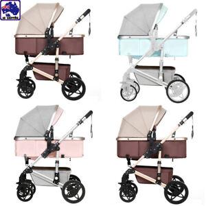 NEW-3-IN-1-Baby-Pram-Stroller-Shock-absorption-two-way-Stroller-BHC0314