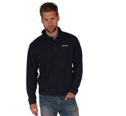 Regatta Thompson Light Weight Micro Fleece Half Zip Washable Quick Dry Top S-XXL