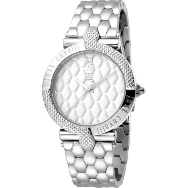 Womens Wristwatch JUST CAVALLI ANIMALS JC1L047M0055 Stainless Steel Snake