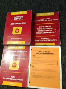 1997 Dodge Ram Van /& Wagon Shop Service Repair Manual