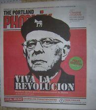 "Feb., 2016 The Portland Phoenix News - Bernie Sanders ""VIVA LA REVOLUCION"" Cover"