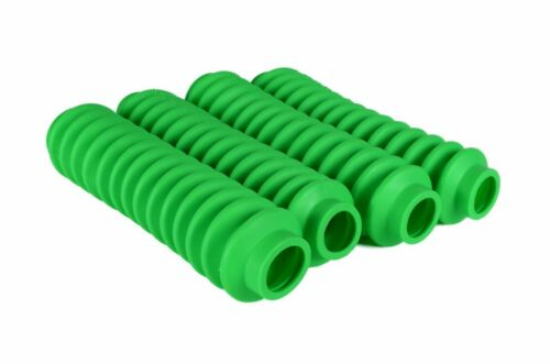 FLUORESCENT GREEN Shock Boots 4 PACK for Jeep Truck and SUV UNIVERSAL FIT