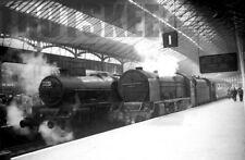 Larger Glass Negative BR British Railways Steam Loco 45613 46151 1950s