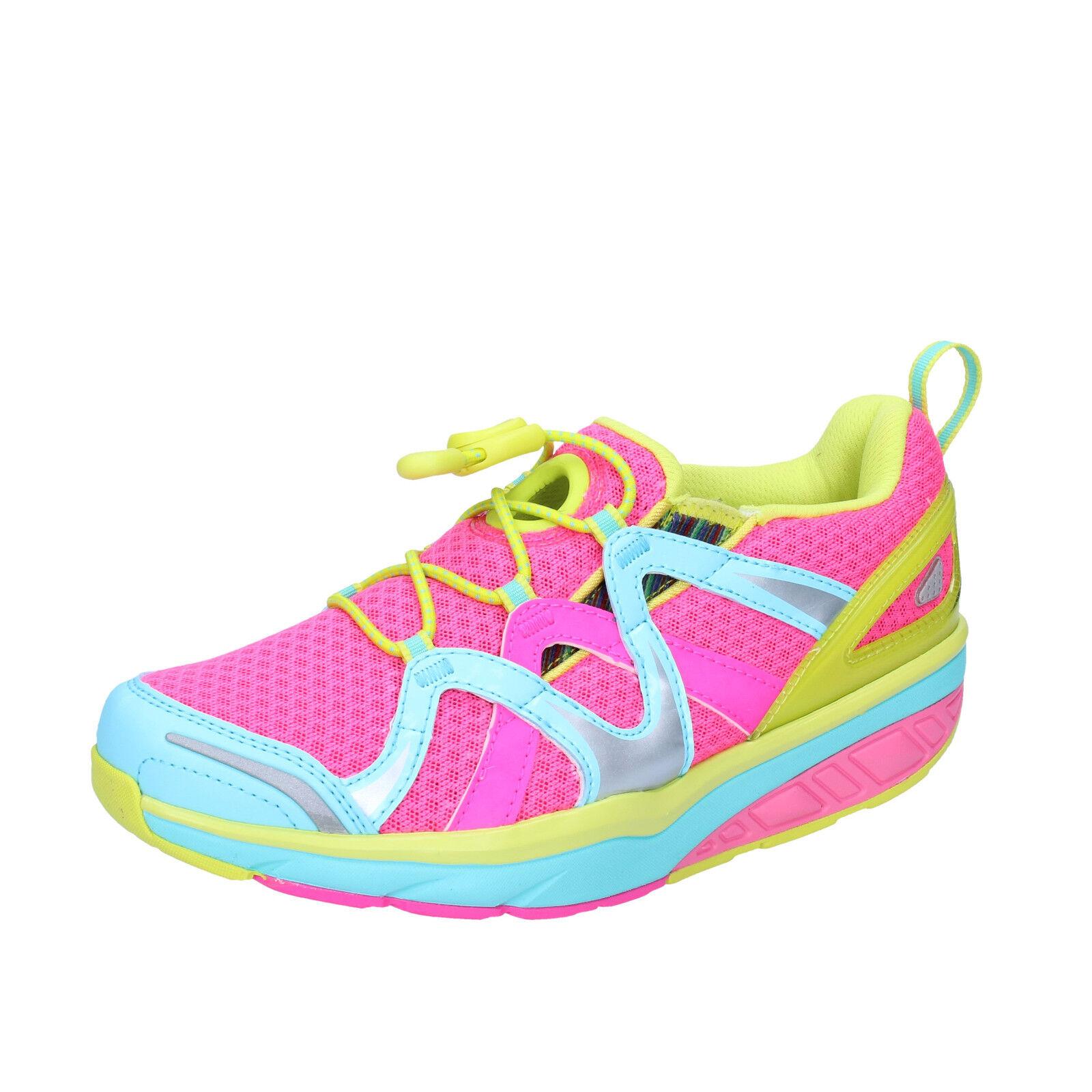 Damen schuhe MBT AFIYA 35 sneakers pink textil dynamic BT21-35