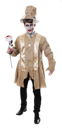 """Fancy Dress Ghostly Signore si adatta Fino A 44 /""""Petto"""