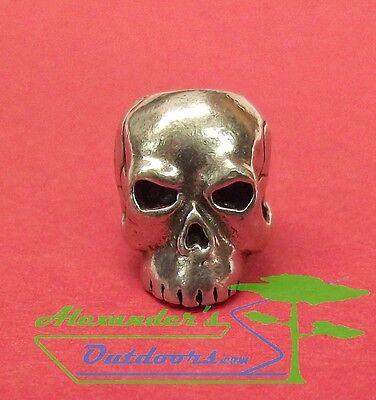 Schmuckatelli Classic Paracord Knife Lanyard Pewter Skull Bead