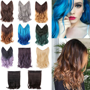 14-034-20-034-Ombre-Hidden-Headband-Secret-Invisible-Wire-Hair-Extensions-Flip-On-Hair