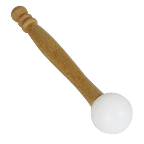 Gummihammer Stick Holzgriff für Crystal Klangschale Buddha Sound Bowl