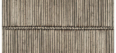 56664 Noch Ho Cartoncino In 3d Coperture In Legno Misure Mm. 250 X 125 Bianchezza Pura