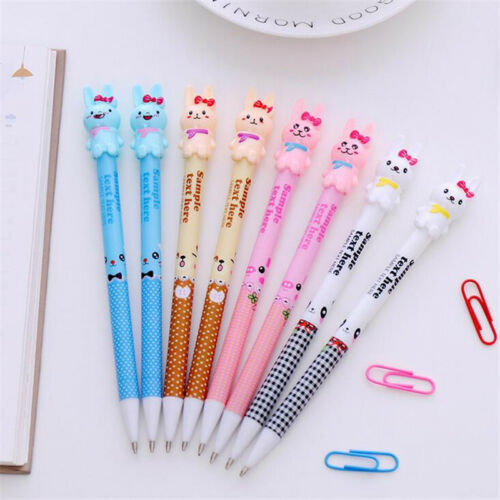 4pcs Cute Rabbit Automatic Mechanical Pencils 0.7mm Lead Stationery for Students