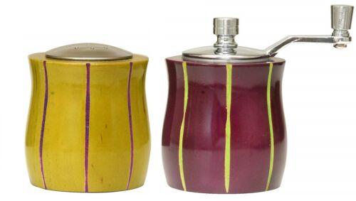 William Bounds Pfeffermühle und Salzstreuer Pep Art Tulip Set Holz