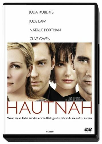 1 von 1 - Hautnah - mit Julia Robert, Jude Law & Natalie Portman !! Wie Nagelneu !!