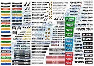 Rauh-Welt-RWB-Porsche-Pack-Waterslide-Decals-for-Hot-Wheels-1-64-model-cars
