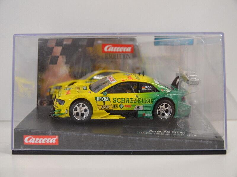 11 ) Carrera Digital Umbau 27473 Audi A5 DTM Rockenfeller mit Licht und Felgien