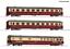 Roco-74096-HO-Gauge-DB-Christoforus-Express-Coach-Set-3-IV miniature 1