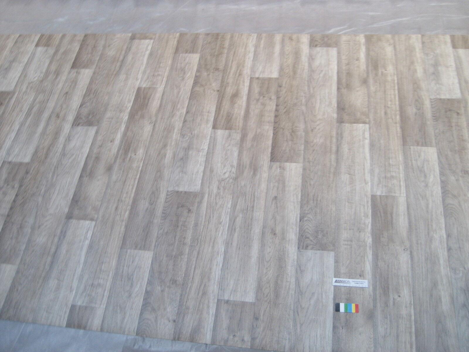 7392 PVC Belag 166x500 Boden Bodenbelag Rest Cv Eiche Landhaus Design Holz Dekor