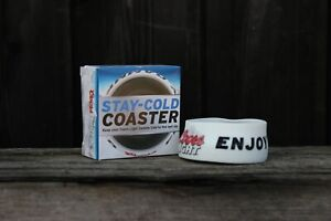 Details about Limited Edition Coors Light Stay Cold Coaster Chiller J C Van  Damme Promo Bottle