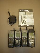 Motorola i30SX (Sprint Nextel) Cellular Phone, Bundle 4 Phones 1 Charger