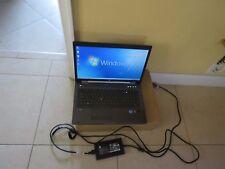 """HP EliteBook Workstation 8760W 17.3""""Intel i5-2.60GHZ,4GB,320GB,AMD FirePro M5950"""