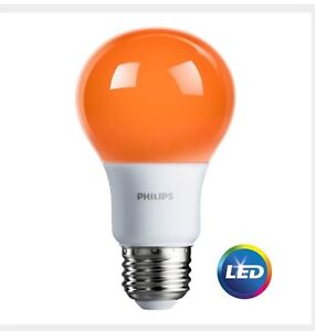 image is loading philips orange light bulb led 8 w porch