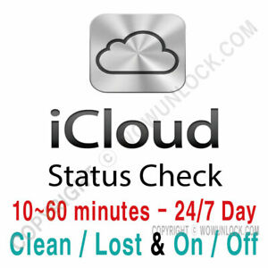 Details about iPhone iPad APPLE Watch ICLOUD Find My IPhone STATUS CHECK BY  SERIAL NUMBER SN