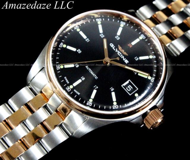 New Glycine Combat Sub6 Swissmade Sw200 Automatic Stainless Steel Sapphire Watch