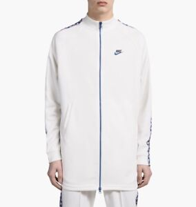 Nike Taped Tab Poly Full Zip Track Jacket White Blue Red AJ2681-133 Men/'s XL-XXL