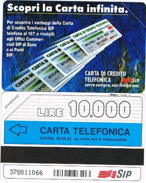 NUOVA SMAG GOLDEN 115 (C&C 1208) CARTA INFINITA TIPO B 06.93 10.000 LIRE PIKAPPA