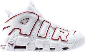 Trastorno ponerse nervioso escalar  Nike Air Blanco Rojo Universitario More Uptempo 96 tamaño 13. 921948-102  Pippen | eBay
