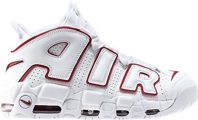Nike Air More Uptempo 96 BIANCO Varsity Rosso Taglia 11. 921948 102 Pippen | eBay