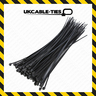 BLACK CABLE TIES IOOmm X 2.5mm QTY =1000