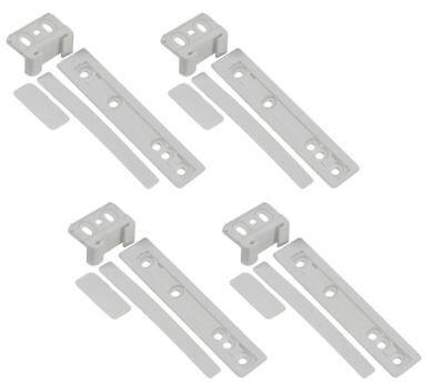GENUINE AEG FRIDGE /& FREEZER REFRIGERATOR INTEGRATED DOOR FIXING BRACKETS X2