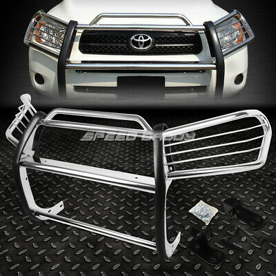 Bumper Guard For Suv >> For 01 05 Toyota Rav4 Suv Xa20 Chrome Stainless Steel Front Bumper Grill Guard Ebay