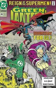 Green-Lantern-Comic-Issue-46-Modern-Age-First-Print-1993-Jones-Bright-Tanghal-DC
