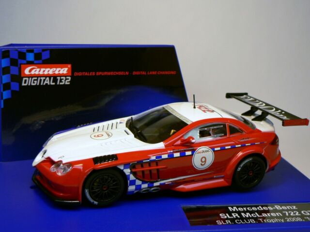 carrera digital 132 30511 mercedes - benz slr mclaren 722 gt trophy