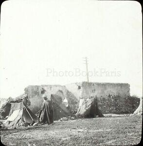 MAROC-Tanger-Maghreb-1904-Photo-Stereo-Grande-Plaque-Verre-VR9L5n10