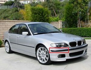 Details About Bmw New Genuine E46 M Package Front Bumper Trim Molding Panel Right O S 8195290