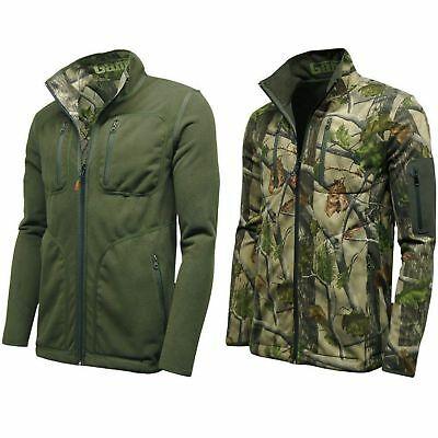 Mens Game Pursuit Reversible Jacket Camouflage Camo Hunting Shooting Fishing New