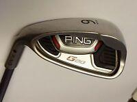 Left Handed Ping G25 Black Dot 9 Iron TFC 169 S Flex Graphite Shaft