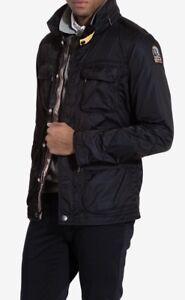 Rare-Mens-Parajumpers-Windbreaker-PJS-Anchorage-Ventilated-Jacket-XL-Black-Coat